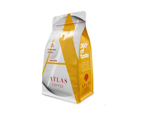 Кофе в зернах Atlas Colombia EL Rubi microlot, 200 г - фото 10085