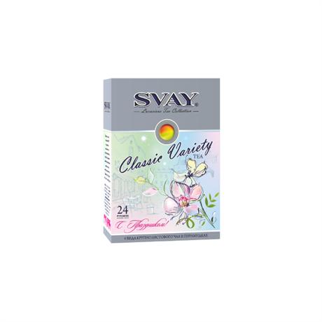 Набор чая SVAY Classic Variety Spring 24 пирамидки (4 вида) - фото 10208
