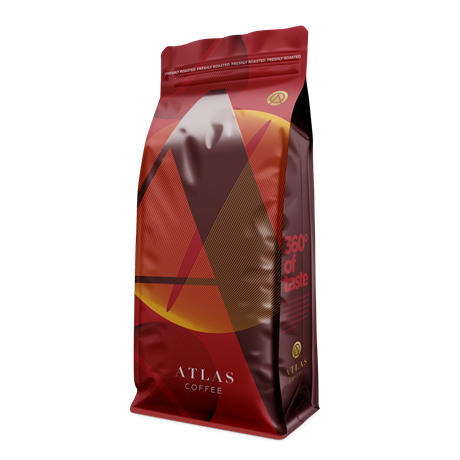 Кофе в зернах Atlas Double Shoot, 1 кг - фото 10701