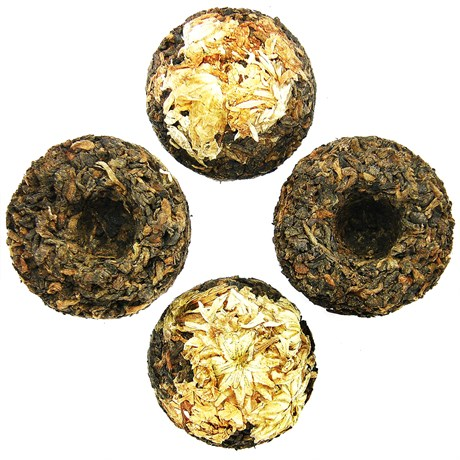 Чай пуэр Цветок жизни, 100 г - фото 10752