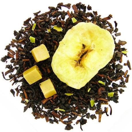 Черный чай Банан-карамель, 100 г - фото 10788