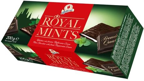 """Шоколадные плитки с мятной начинкой """"Royal Mints"""", 200 г - фото 10851"""