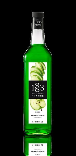 Сироп Зеленое яблоко 1883 Maison Routin, 1л - фото 11050