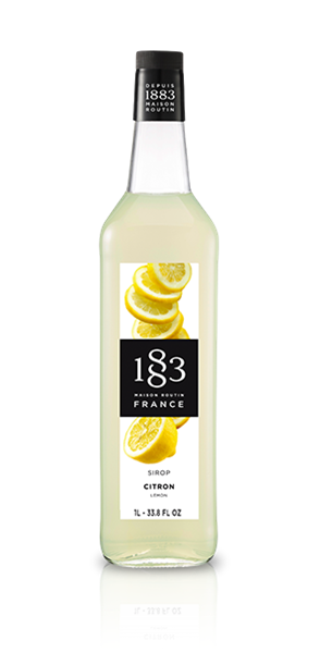 Сироп Лимон 1883 Maison Routin, 1л - фото 11069