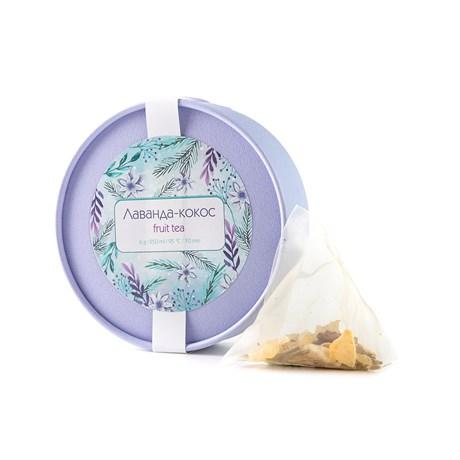 Чай Tea Point Лаванда-кокос, 5 пирамидок, 30 г - фото 11455