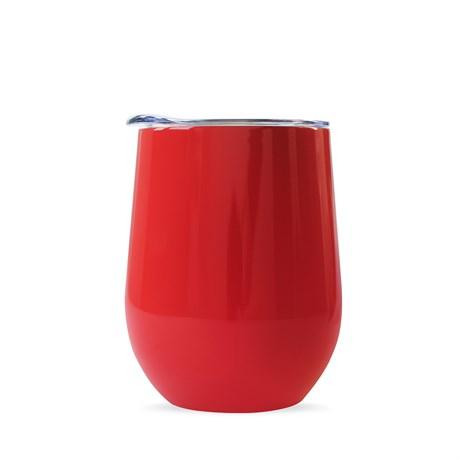 Термокружка COFER / Кофер CO12, красный, 350 мл - фото 11920