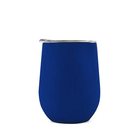Термокружка COFER / Кофер софт-тач CO12s, синий, 350 мл - фото 11924