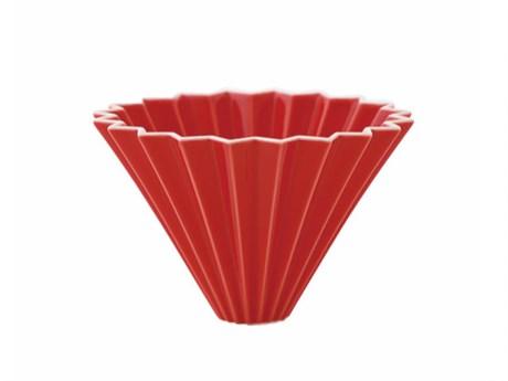 Воронка для кофе ORIGAMI, красная, размер M - фото 11954
