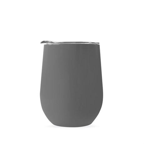 Термокружка COFER / Кофер софт-тач CO12s, серый, 350 мл - фото 12293