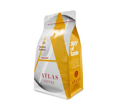 Кофе в зернах Tanzania Peaberry, Atlas Coffee 200 г - фото 12365