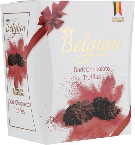 """Конфеты трюфели """"The Belgian"""" из темного шоколада в хлопьях, 145г - фото 9804"""