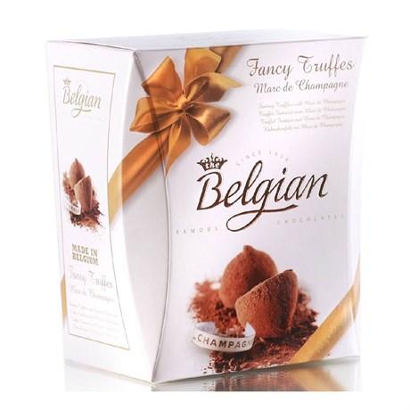 """Конфеты трюфели """"The Belgian"""" с ароматом шампанского, 145г - фото 9806"""