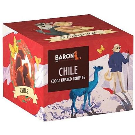 """Шоколадные конфеты """"BARON"""", трюфели со вкусом чили, 100 г - фото 9807"""