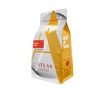 Кофе в зернах Atlas Ethiopia Sultan, 200 г - фото 9849