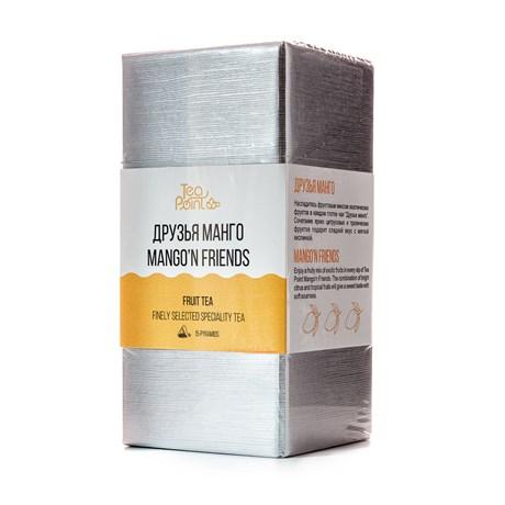 Чай Tea Point Друзья манго, 15 пирамидок, 90 г - фото 9864