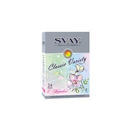 Набор чая SVAY Classic Variety Spring 24 пирамидки (4 вида)