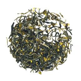 Зеленый чай с османтусом, 100 г