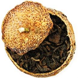 Чай Пуэр в мандарине, 100 г