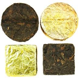 Чай Джин пуэр, круглые плитки, 100 г
