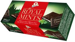 """Шоколадные плитки с мятной начинкой """"Royal Mints"""", 200 г"""