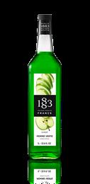 Сироп Зеленое яблоко 1883 Maison Routin, 1л