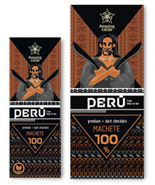 Шоколад Amazing Cocao Machete горький 100%, 80 г