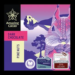 Шоколад Amazing Cocao Кедровый орех, 60 г