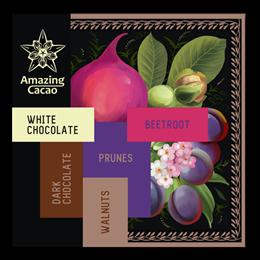 Шоколад Amazing Cocao Темный 49% Салатный, 60 г