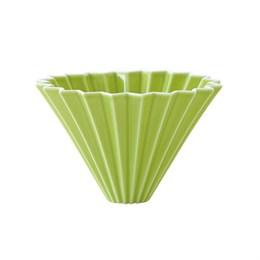 Воронка для кофе ORIGAMI, зеленая, размер M