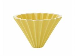 Воронка для кофе ORIGAMI, желтая, размер M
