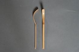 Ложка бамбуковая для чая матча (Япония) JP-222