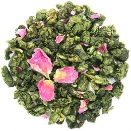Чай улун ГАБА с розой, 50 г