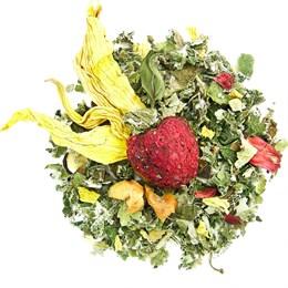 Травяной чай Малина и мята, 100 г