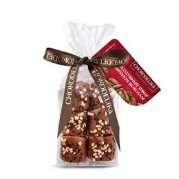 """Конфеты """"Воздушный зефир в кофейном шоколаде"""" в пакете с ленточкой 55 г"""