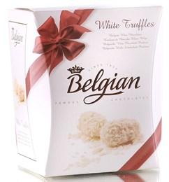 """Конфеты трюфели """"The Belgian"""" из белого шоколада в хлопьях, 145г"""