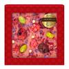 Шоколад белый с украшением Chokodelika Малина, фисташка, вишня, 75 г - фото 10843
